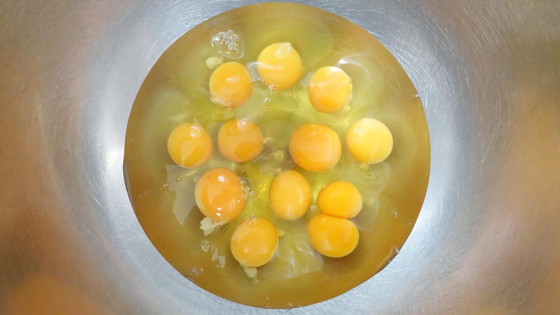 タケノスベイクの卵は・・・